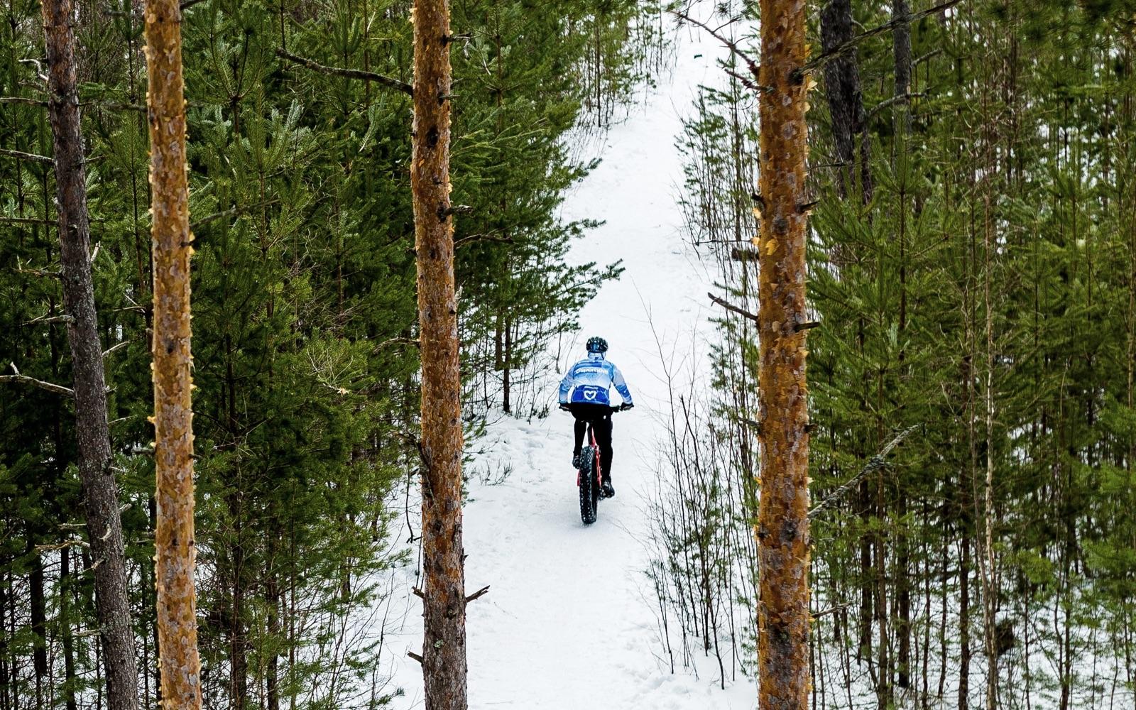 Snowy Ride Through Canada